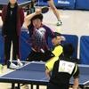 対戦相手はオールフォアの前陣速攻型!トーナメント一回戦・三番 2019年第8回米田杯争奪三重県卓球大会