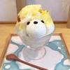 かわいすぎ!黄色いくまさんのかき氷(Japanese Ice OUCA @恵比寿)