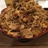 牛丼キング食べたんだ。