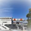 4-5月の青空がお似合い多摩都市モノレール^^…2014年多摩センター駅