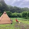 ファミリーキャンプ@しもはじ埴輪キャンプ場