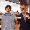 大盛況!株式会社LIGさんがTシャツの訪問販売にやってきたよ!
