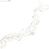 QGIS電子地図操作 第13回 海岸鉄道2
