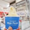 タカナシミルクパーラー @そごう横浜 秋の限定フレーバー低温殺菌牛乳&安納芋ソフト