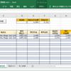【管理表】在庫理表シートの説明書【Excel】