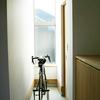 玄関土間と自転車収納/TOPEAK デュアルタッチ バイクスタンド