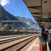 スイス・イタリア旅行④ アンデルマットへ