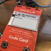 JJUG CCC 2019 Springの懇親会でもらったOracle Code Cardを使ってみる