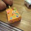 3年生:図工 ゴムの力でトコトコ