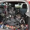 ルノー ルーテシア4(クリオ4)にロードバイク積載