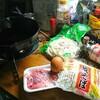重作業後の昼休憩はスタミナ焼きラーメンでファイト一発