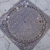 バルセロナのマンホールの蓋(4)