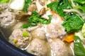ハンチョウ 風邪対策の肉つみれ鍋