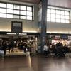 Via鉄道のモントリオール駅で久々のライスを食べて、フランス語だらけのケベックへ。