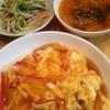 カニカマ天津飯で簡単ゴハン