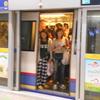 バンコクの電車~満員 OR ガラガラ、どちらがお好き?