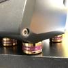 BOSE Computer Music Monitor(M2)のゴムパッドが無くなってたのでインシュレーターに付け替えた