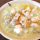 胃袋感謝飯なら、沁みこむ柔らかチキンの胡麻白湯大根雑炊(糖質4.3g)が良いよ!