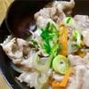 中華風豚丼。