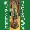 100均素材を使ったワンピースフィギュアのテラリウム風な飾り方(ボトルフィギュア)