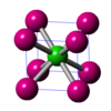 塩化セシウム型構造についての解説