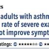 ACPJC:Therapeutics 成人喘息患者におけるビタミンD3は重症の増悪は減らすが症状は改善しない