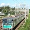 常磐緩行線でよくお目に掛かる東京メトロ16000系電車