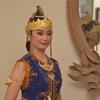 ジャワ舞踊の衣装(1)