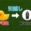 FC2ブログからはてなブログに移転する作業手順