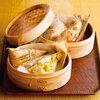 丹波篠山の自然な味わい 「栗おこわ・鶏と茸のおこわ」