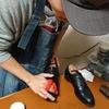 ストリートなカジュアルでも靴磨きしちゃうよ!!逆に良くない??