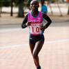ワンジルさん、10km優勝:第35回山陽女子ロードレース大会