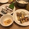 サバ寿司、穴子の蒲焼、ホヤ刺し。いっぺんに色々作りすぎて破綻した><