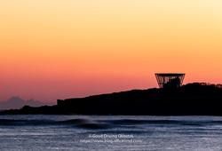 日の出岬の日の出