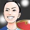 卓球全日本2021。思えば卓球もメジャーになったもんだ。