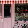 ピンクと自転車