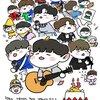 他のメンバーのマスターが撮ったキムジェファンを愛でる( ु´˂˃` )ु🎂 #봄을_노래하는_재환아_생일축하해 #HAPPY_JAEHWAN_DAY