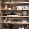 食器棚と冬支度