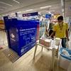 ブラジルのコロナ対策:買い物カート用🛒の『(コロナ除菌)消毒+洗浄機』導入。