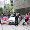 ● 豊田自工会会長、バブリーダンサーと来場アピール…10月6日から東京モーターフェス2018