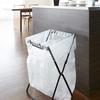 キッチンや外でのごみ掃除に便利 山崎実業 ゴミ袋&レジ袋スタンド タワー 7909