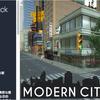 Modern City Pack ニューヨークシティの街角をイメージした昼と夜の顔をもつ都市。ハイクオリティ3Dモデル