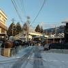 それでも雪の風景を
