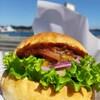 【玉野市】#8 WIREでハンバーガーのテイクアウト!海を眺めながら食べるハンバーガーは最高✨