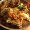 ✳︎きのこと干瓢と油揚げの卵とじ、ふ海苔と豆腐の味噌汁、とり貝と茗荷と若布のぬた