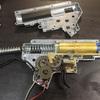 E&C Mk18 Mod1のメカボックス分解とパーツの確認