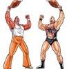「MHX」が「キン肉マン」とコラボ。モンスターと超人のコラボwタマミツネXアシャラマンwwww