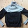 セーター7枚目、完成!今年は最後だな。
