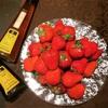 〝黒酢ハチミツ〟にあうイチゴは?