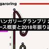 F1 ハンガリーグランプリ 2019 コース概要と2018年振り返り